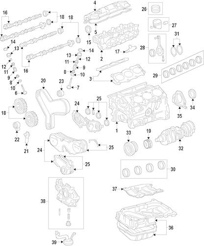 Genuine OEM Toyota Timing Belts Parts