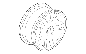Buy this Genuine 2005-2009 Volvo Wheel, Alloy 30664605