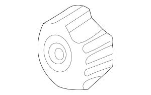 1993-2004 Volvo Engine Timing Belt Tensioner Pulley