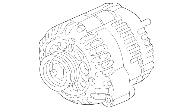 OEM GM Alternator 4.7L 6.6L 06-07 Cadillac Chevrolet GMC