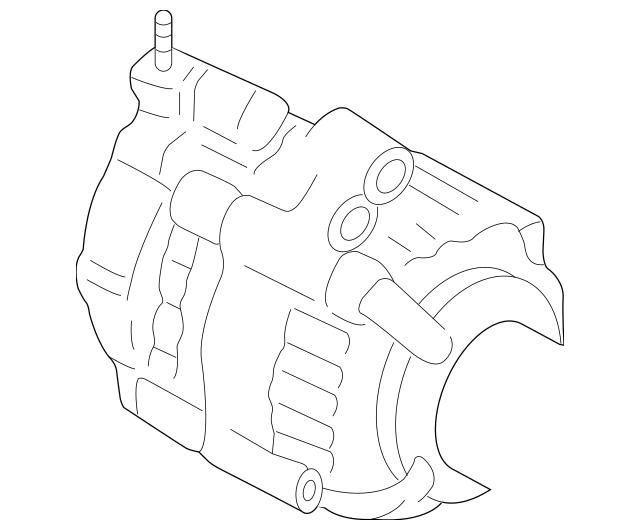 2008-2012 Honda Alternator Assembly (CSF89) (Denso) 31100