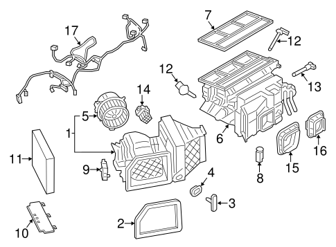 Condenser, Compressor & Lines for 2014 Porsche Boxster