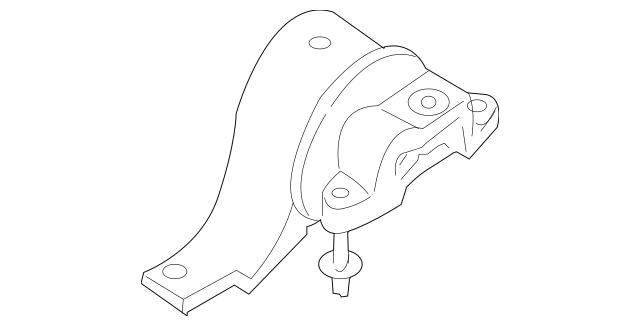 OEM NEW Front Torque Strut Engine Mount 3.5L Altima Maxima