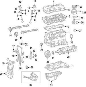 ENGINE for 2012 Lexus CT200h | XportAuto