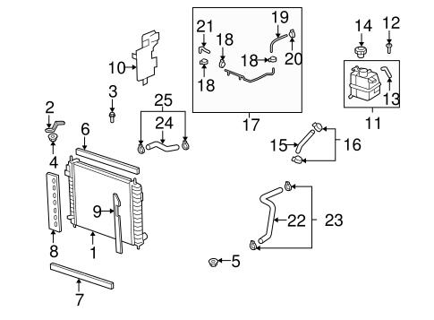 OEM Radiator & Components for 2009 Saturn Vue