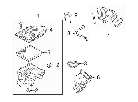 2014 Chevy Impala Engine Diagram