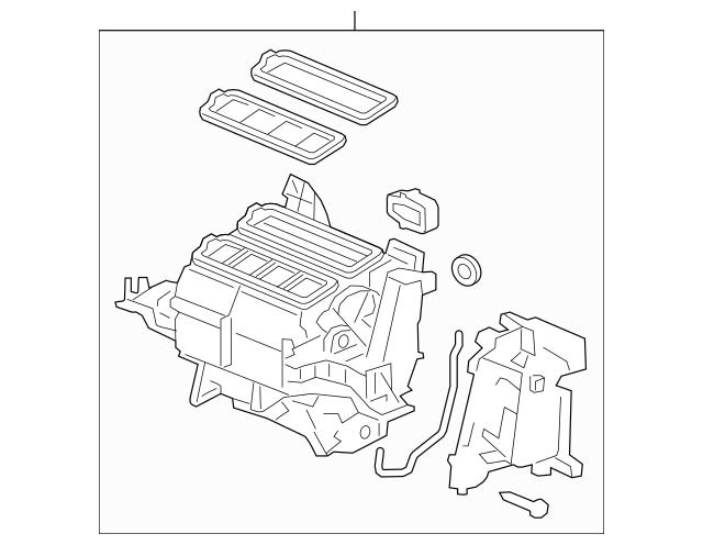 Discount Genuine OEM 2015-2016 Honda CR-V 5-DOOR Heater