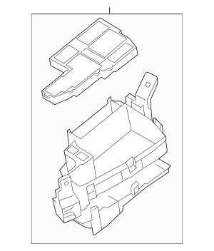 2013-2019 Mazda CX-5 Fuse & Relay Box KD45-66-760A