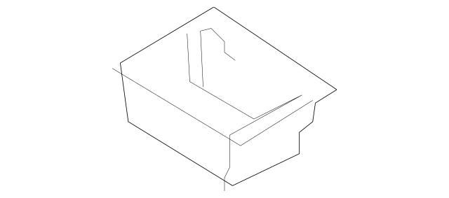 2014-2015 Lincoln MKX Storage Box EA1Z-7806202-AA