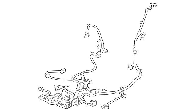 2015-2017 Cadillac ATS Power Seat Wiring Harness 23294682