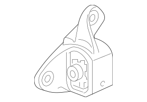 2016 Honda PILOT 5-DOOR Rubber Assembly, Transmission