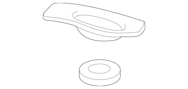 2015-2020 Acura TLX SEDAN Bracket, L Radiator Mounting