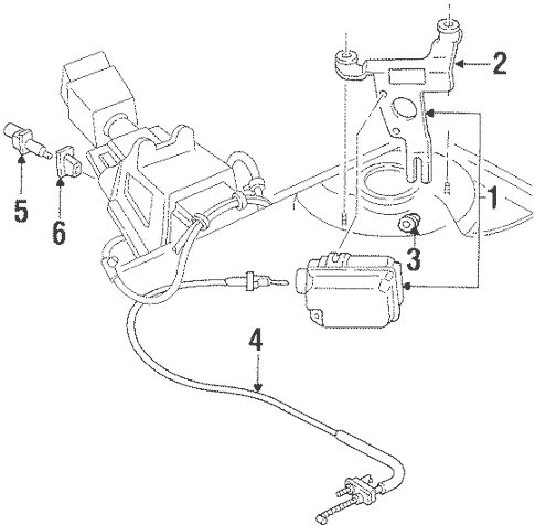 Cruise Control System for 1999 Oldsmobile Intrigue
