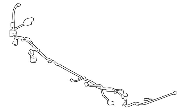 2014 hyundai santa fe wiring harness