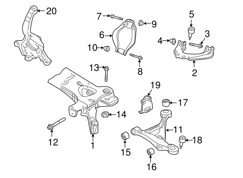 Suspension Components for 2003 Dodge Stratus Parts