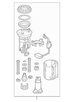 2013-2015 Honda CROSSTOUR 5-DOOR Module Set, Fuel Pump