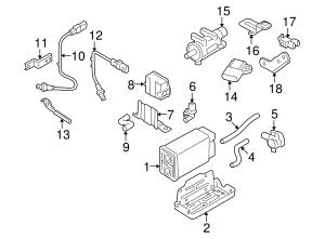 Genuine OEM Oxygen Sensor Part# 39210-3C400 Fits 2006-2010