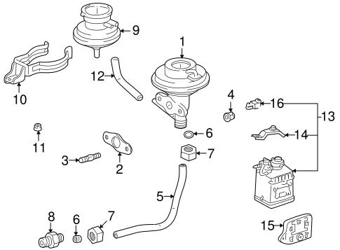 Genuine OEM Emission Components Parts for 1997 Toyota RAV4