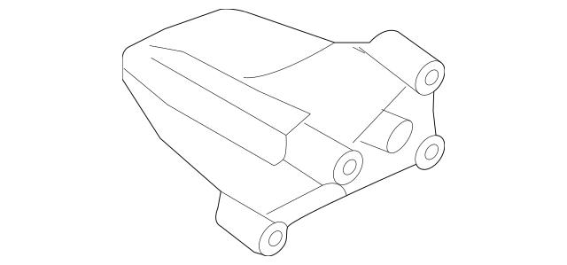 2010-2014 Hyundai Genesis Coupe Support Bracket 21815
