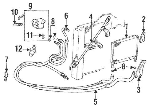 Engine Oil Cooler for 1997 Cadillac Eldorado (ETC