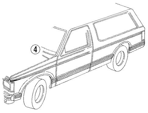 Chevy 4wd Actuator Location Chevrolet Transfer Case Vacuum