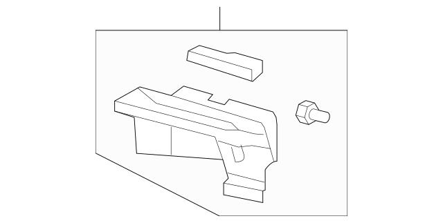 Honda Insulator, Dashboard (Outer) (74251-SLN-A00