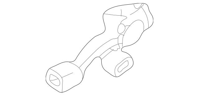 2001-2004 Toyota Tacoma Seat Belt Receptacle 73470-04010