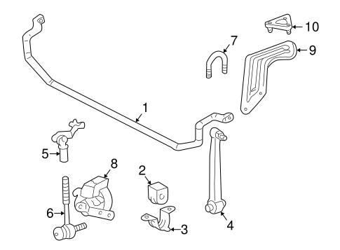 Stabilizer Bar & Components for 1999 Mercedes-Benz C 230
