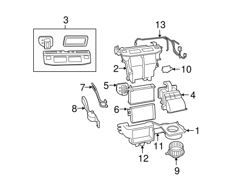 CONDENSER, COMPRESSOR & LINES for 2010 Chrysler Town & Country
