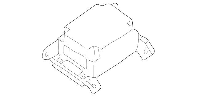 1999-2000 Subaru Forester Control Module 98221FC100