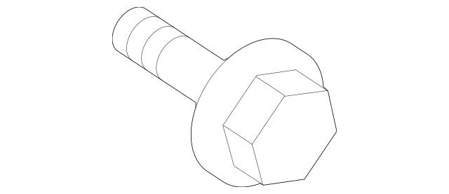 2003-2011 Honda ELEMENT 5-DOOR Bolt-Washer (6X16) (Dacro