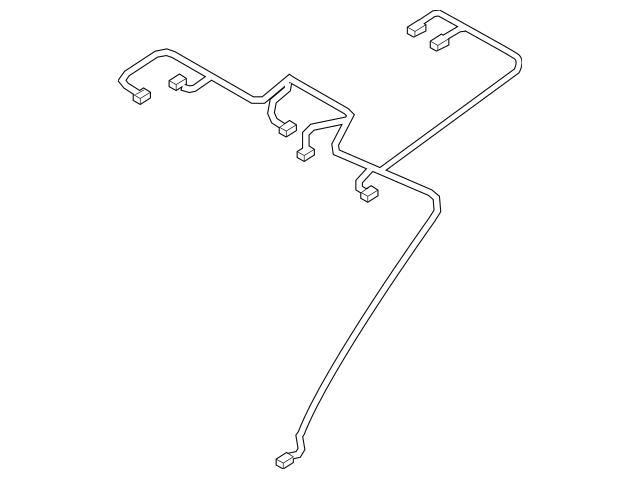 2007-2009 Hyundai Elantra Wire Harness 91800-2H231