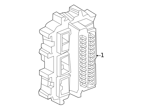 2019-2020 Infiniti QX50 Fuse & Relay Box 24350-5NA0A