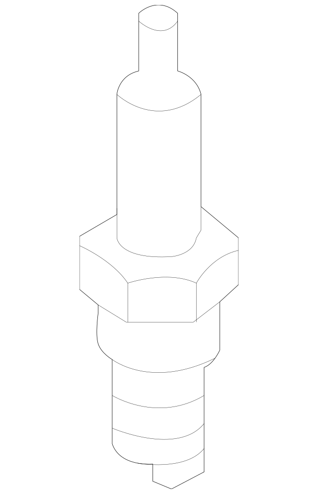OEM Genuine Kia Spark Plug Assembly 09-16 Forte Forte Koup