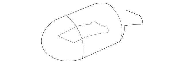 Genuine 2007-2008 Honda FIT 5-DOOR Bulb (12V 21W) (Amber