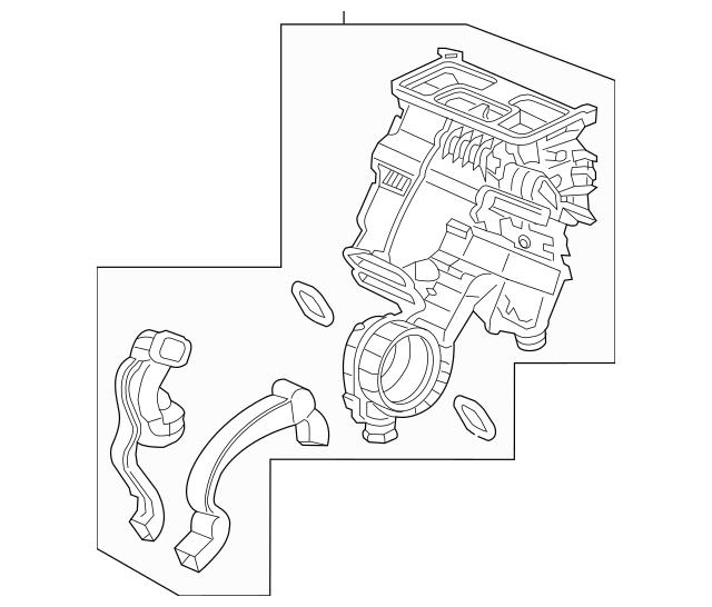 Discount Genuine OEM 2016 Honda PILOT 5-DOOR Heater Sub