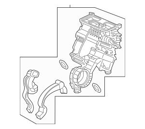 Discount Genuine OEM Honda Heater Sub-Assembly 79106-TG7