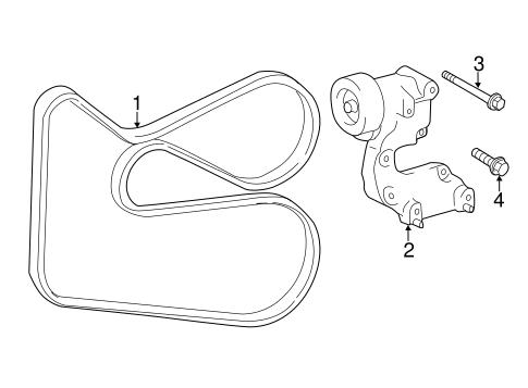 Genuine OEM Belts & Pulleys Parts for 2011 Toyota