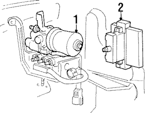 ABS COMPONENTS for 1996 Ford Ranger