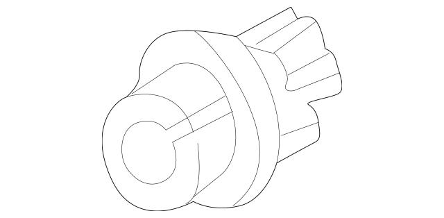 2000-2003 Honda S2000 COUPE Socket (PY21W) 33514-S2A-003