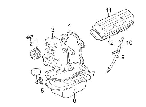 Wiring Diagram PDF: 2003 Buick Park Avenue Engine Diagram