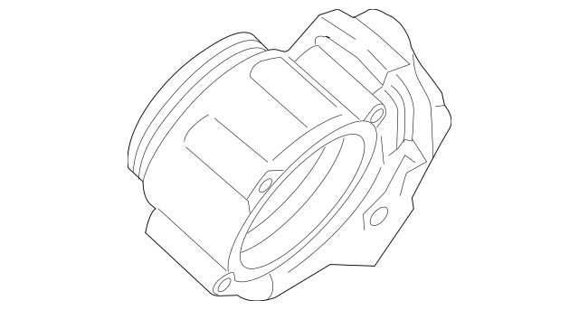 2013-2016 Porsche Cayenne Throttle Body 958-605-115-00
