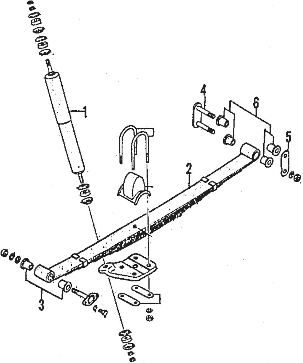 OEM NEW 1984-1993 Mazda B2000 B2200 B2600 Standard Rear