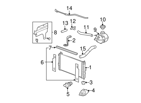 2007 Pontiac Grand Prix Exhaust System Diagram 2007 Ford