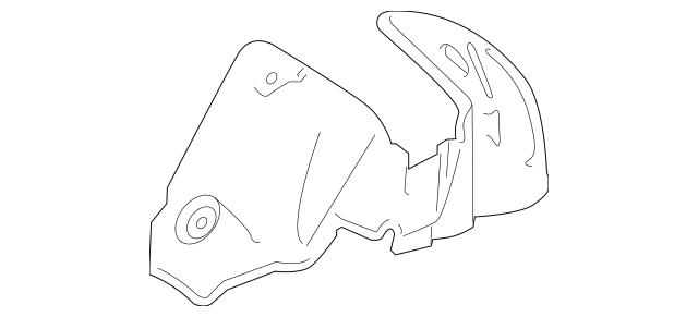 2010-2015 Honda CROSSTOUR 5-DOOR Insulator, L Rear