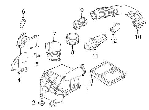 Powertrain Control for 2001 Mercedes-Benz CLK 320