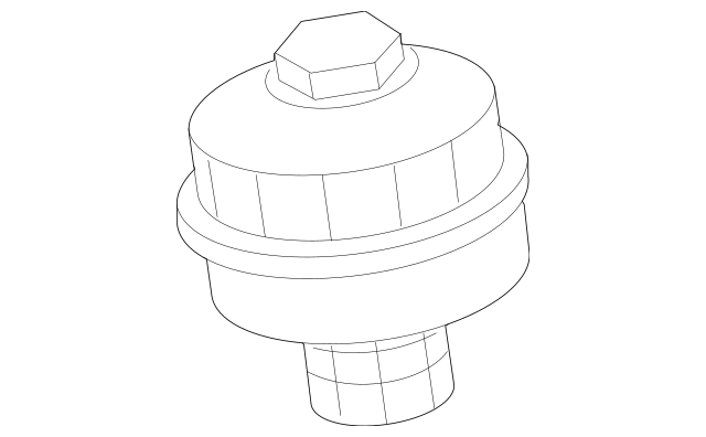 Buy this Genuine 2007-2016 Volvo Oil Filter Housing Cap