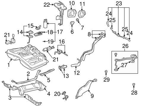 1998 Toyota Rav4 Engine Vacuum Diagram