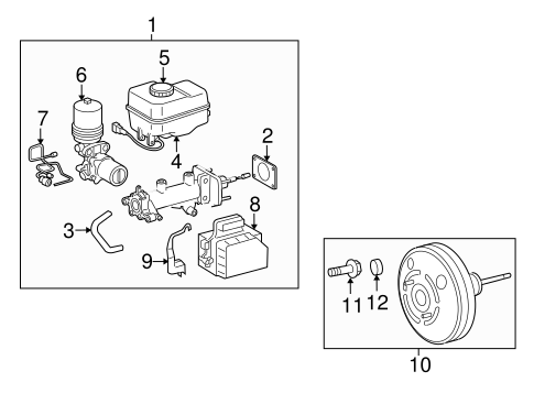 Genuine OEM Hydraulic System Parts for 2009 Toyota Tacoma