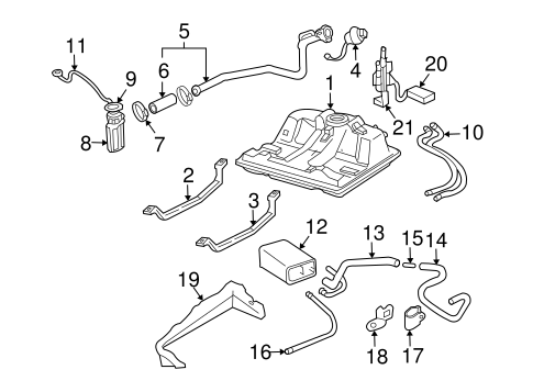 Fuel System Components for 2007 Chevrolet Monte Carlo